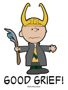 Loki/Charlie Brown mash-up