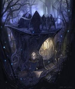 LotR_BfMe_II_Elf_siege_concept_art_1